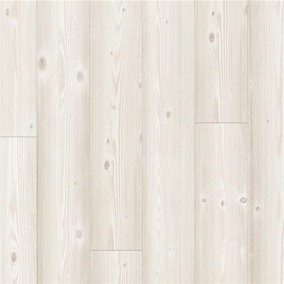 Pergo Laminatgolv Living Expression Borstad Vit Furu Modern Plank 4v 1-stav