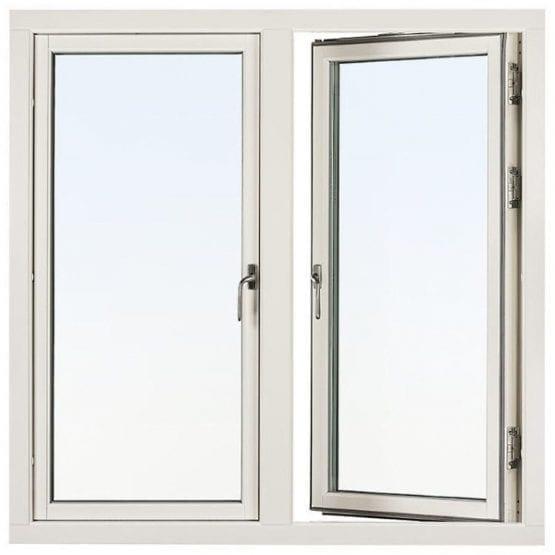 SP Fönster Balans Sidohängt Aluminiumbeklädda 2-luft 3-glas