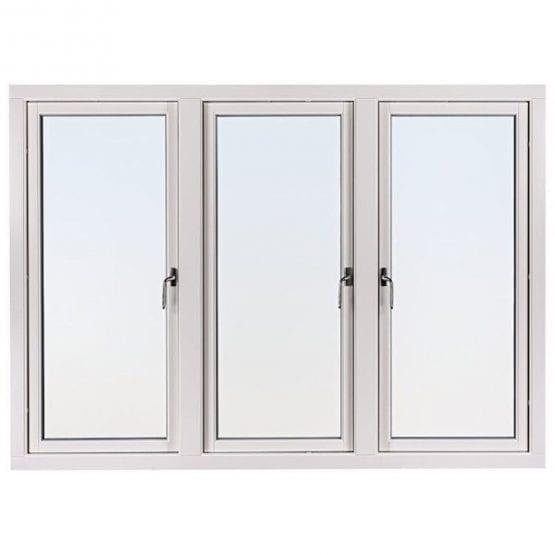 SP Fönster Balans Sidohängt Aluminiumbeklädda 3-luft 3-glas