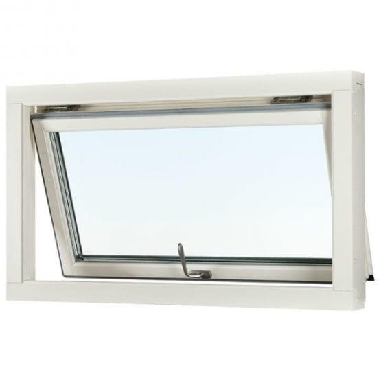 SP Fönster Stabil Överkantshängt Trä 1-luft 3-glas