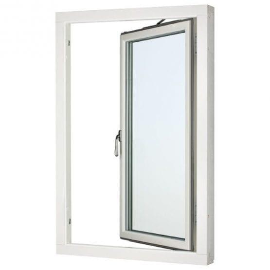 SP Fönster Stabil Sidohängt Trä 1-luft 3-glas