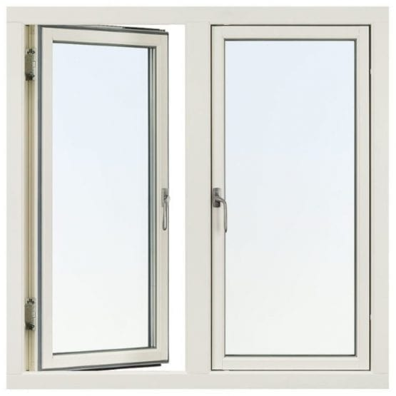 SP Fönster Stabil Sidohängt Trä 2-luft 3-glas
